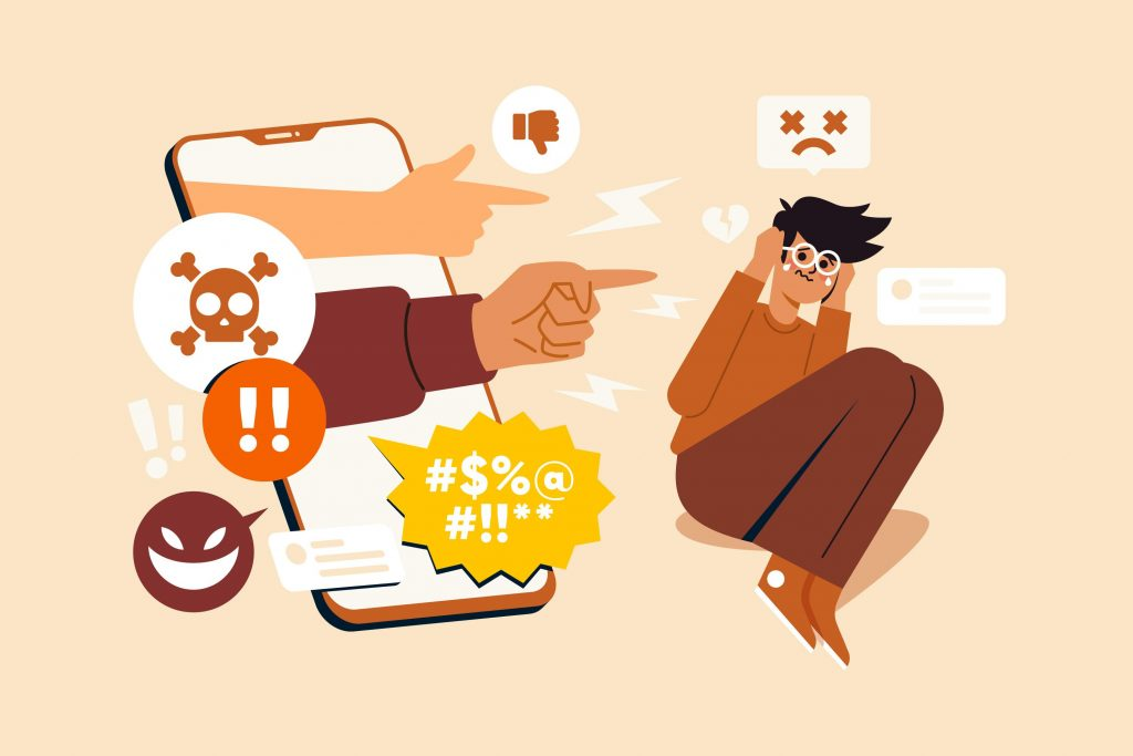 10 warning signs of cyberbullying