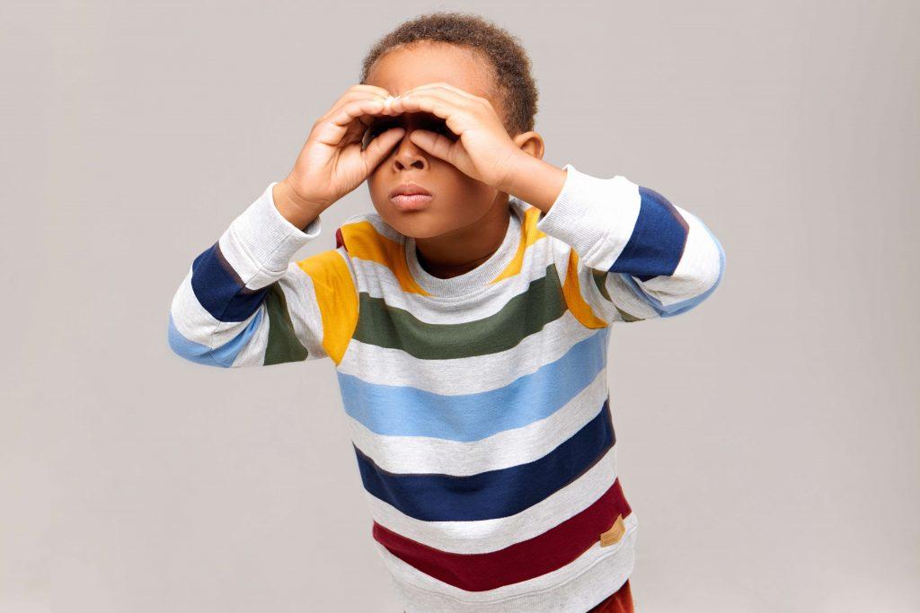 Sexual curiosity behaviors in children
