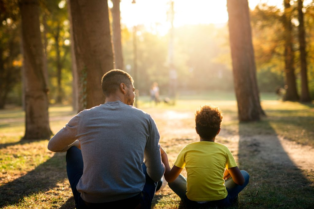 Take lots of time talking with your child