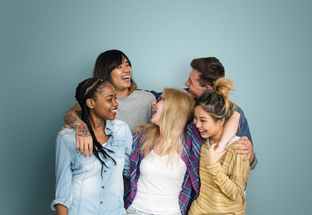 The desire to integrate of teens