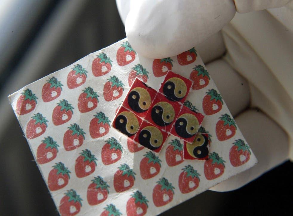 LSD paper drugs