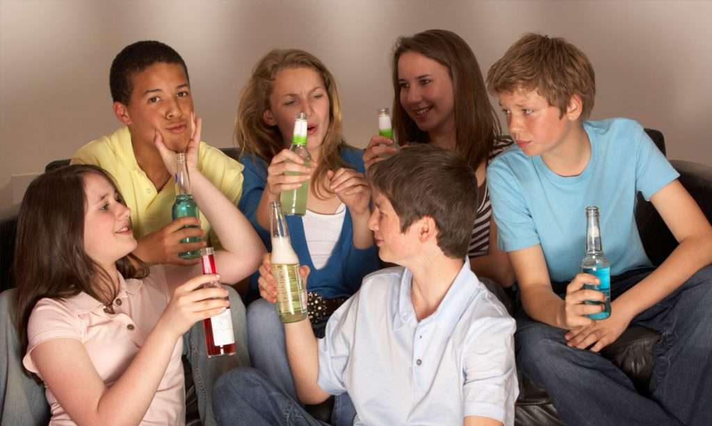Peer pressure - negative Peer pressure