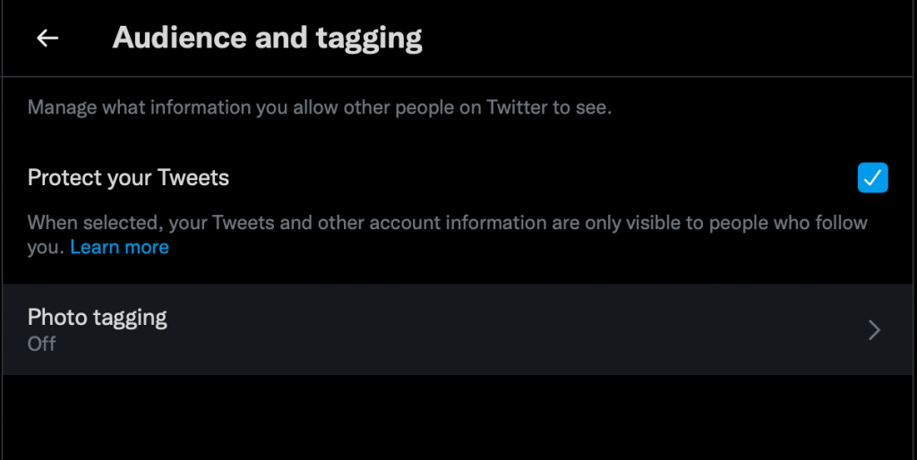 how to block sensitive content on twitter